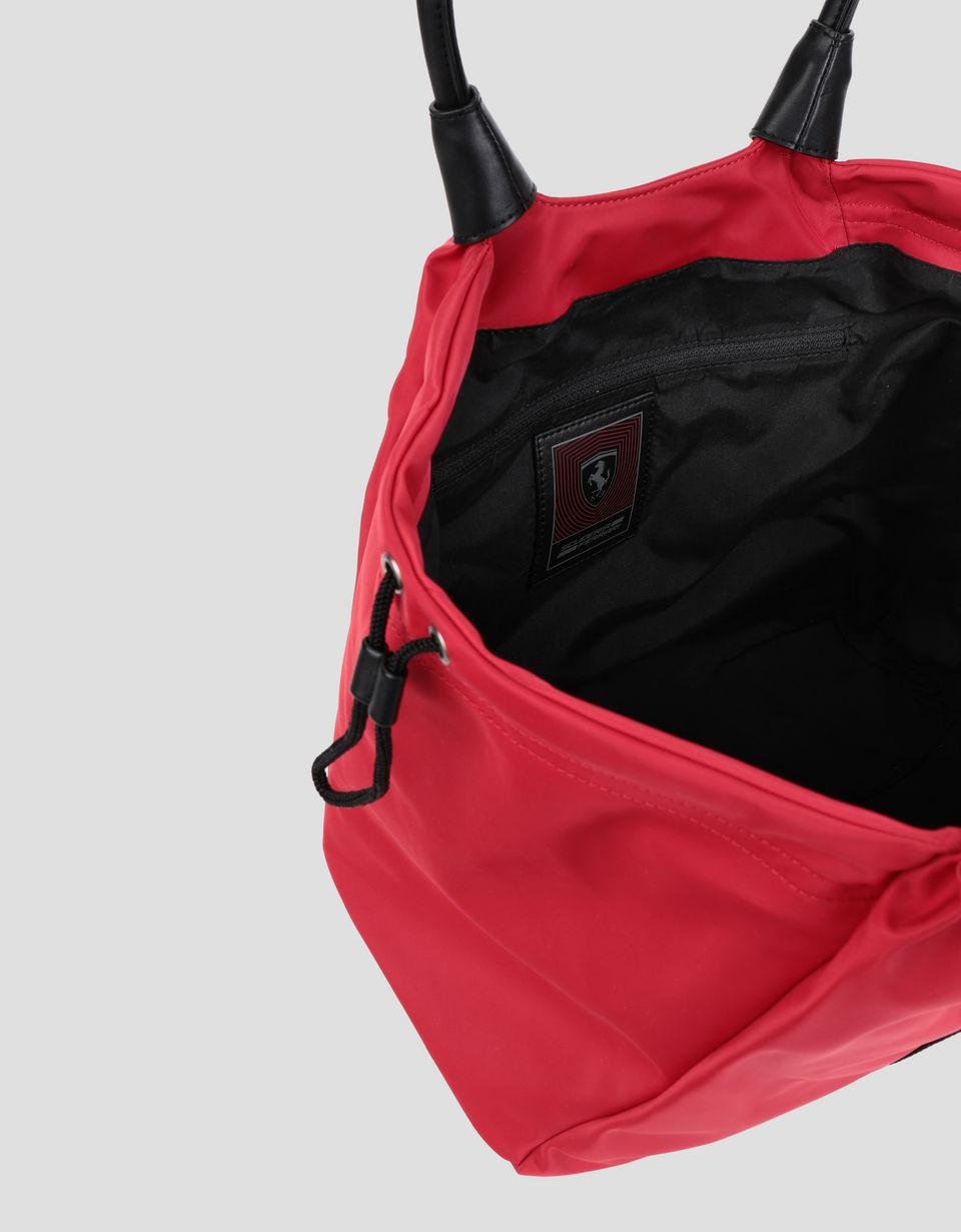 Scuderia Ferrari Online Store - Women's bag with double drawstring - Tote Bags