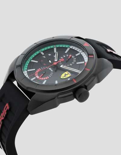 Multifunction Forza watch with Italian flag details