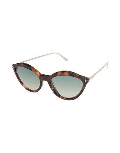 Фото - Солнечные очки темно-коричневого цвета