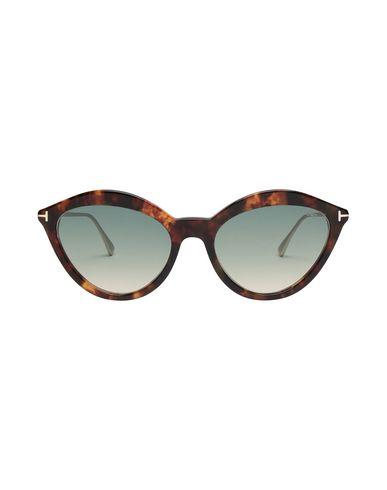 Фото 2 - Солнечные очки темно-коричневого цвета