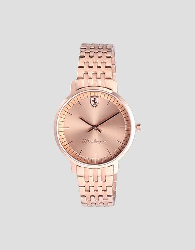 Rose gold women's Ultraleggero watch