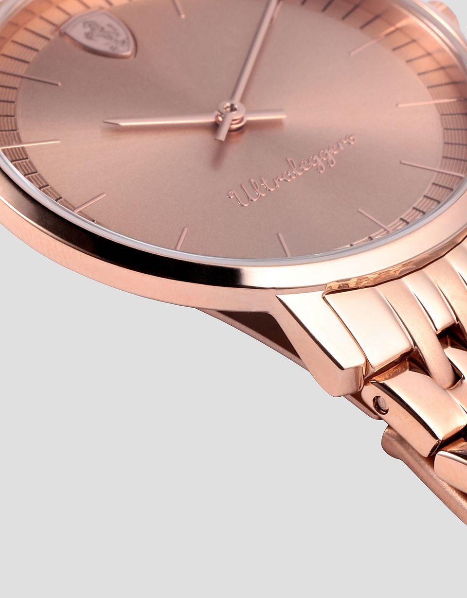 Scuderia Ferrari Online Store - Reloj Ultraleggero para mujer color oro rosa - Relojes de cuarzo