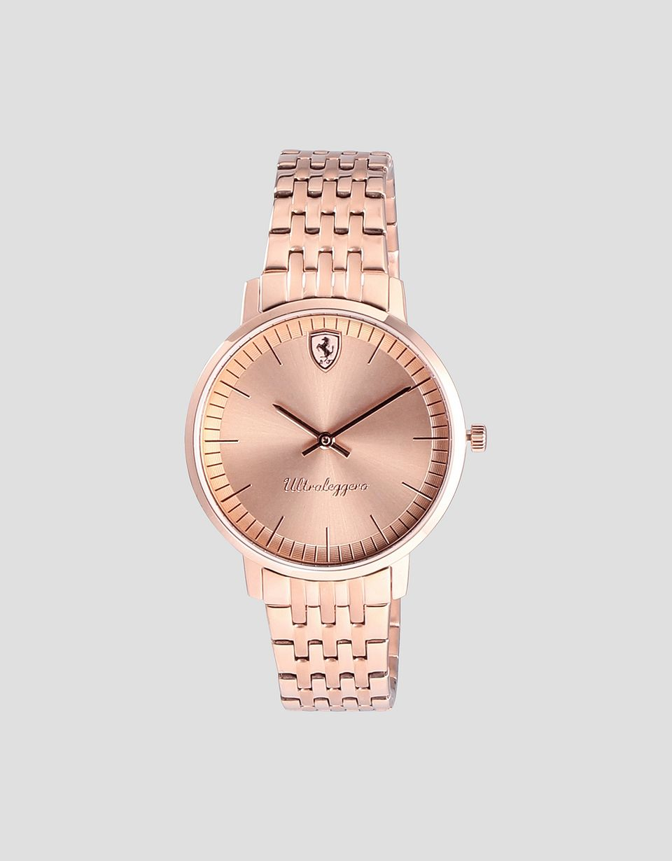 Scuderia Ferrari Online Store - Ultraleggero rose gold-coloured ladies' watch - Quartz Watches