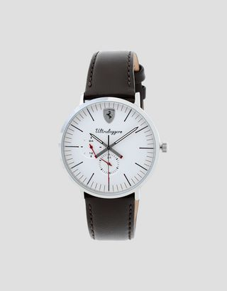 Scuderia Ferrari Online Store - Ultraleggero multifunction watch with white dial - Quartz Multifunctional Watch