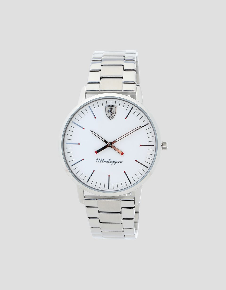Scuderia Ferrari Online Store - Ultraleggero watch with white  dial - Quartz Watches