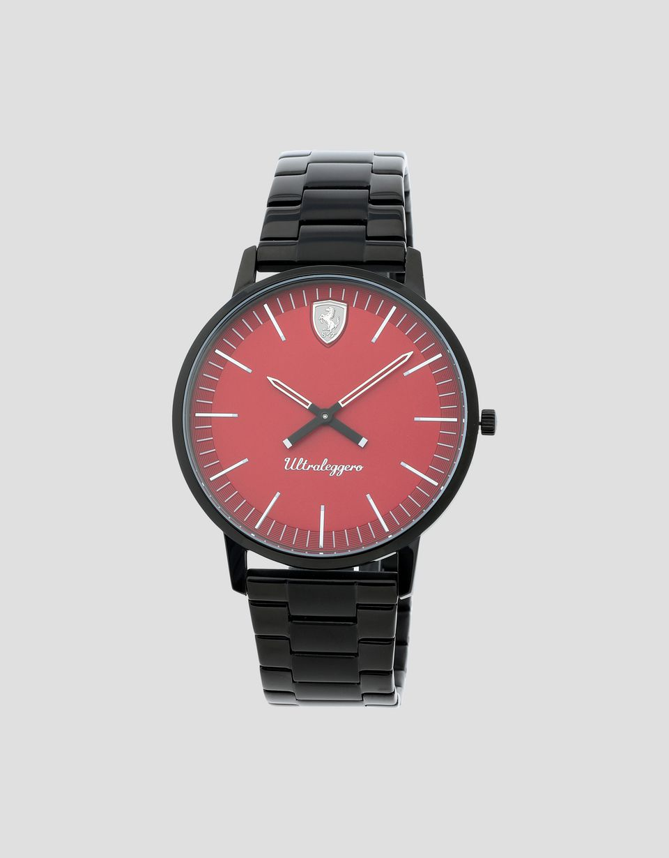 Scuderia Ferrari Online Store - Ultraleggero watch with red dial -