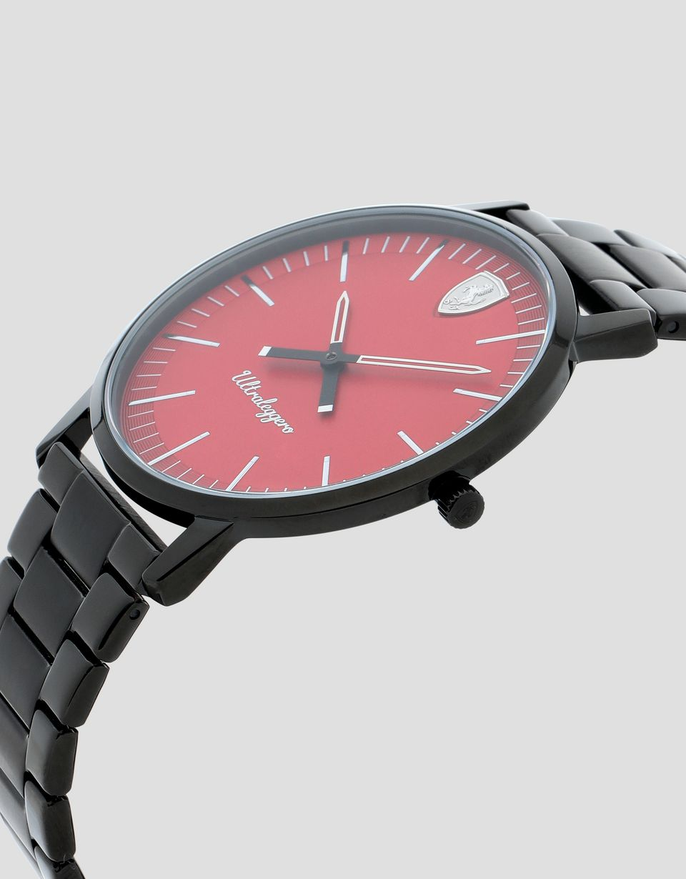 Scuderia Ferrari Online Store - Ultraleggero watch with red dial - Quartz Watches