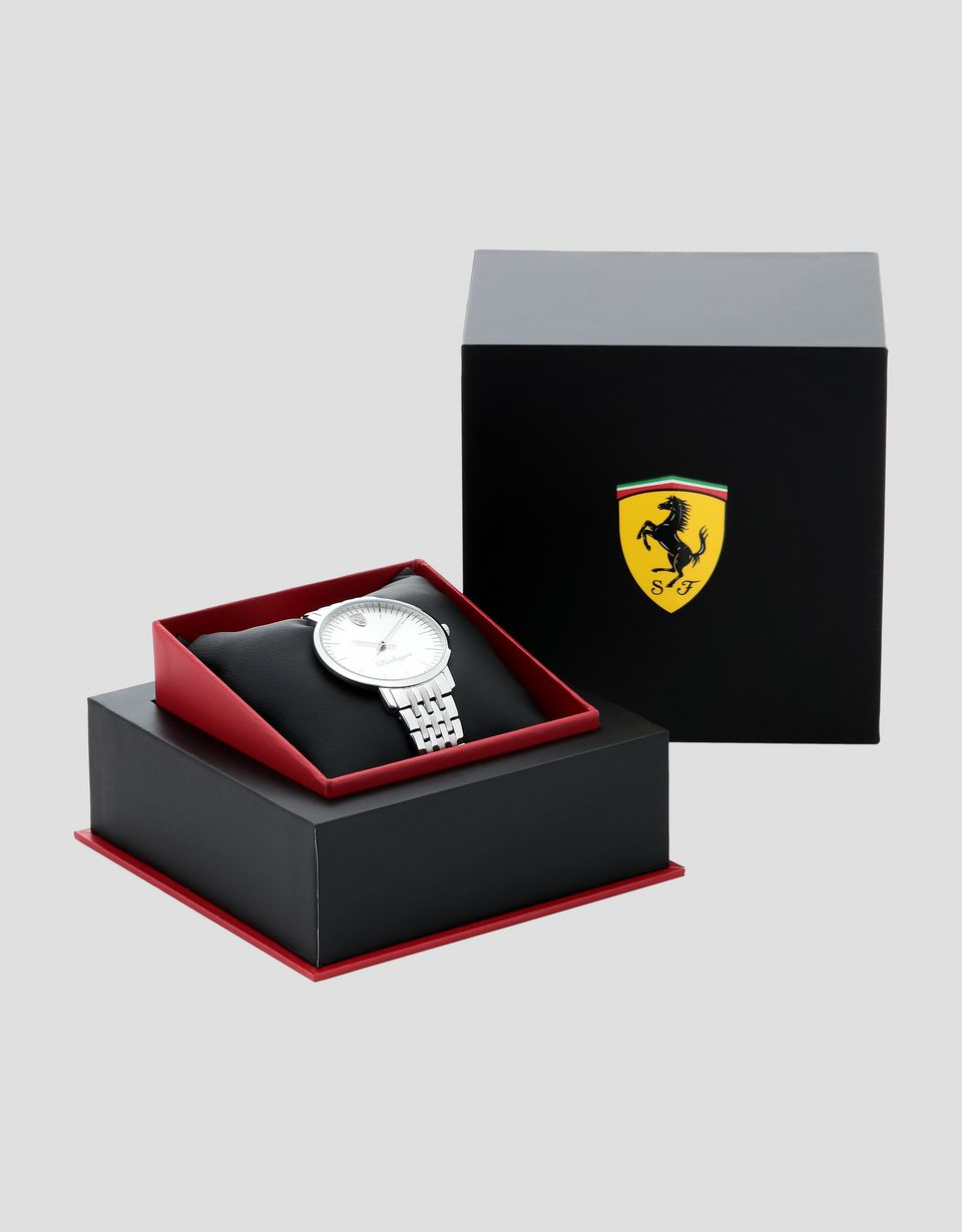 Scuderia Ferrari Online Store - Women's Ultraleggero watch with steel wrist strap -