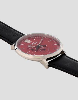 Scuderia Ferrari Online Store - Multifunktionsuhr Ultraleggero mit rotem Zifferblatt - Quartz Multifunctional Watch
