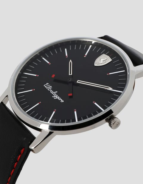 Ultraleggero watch with black dial