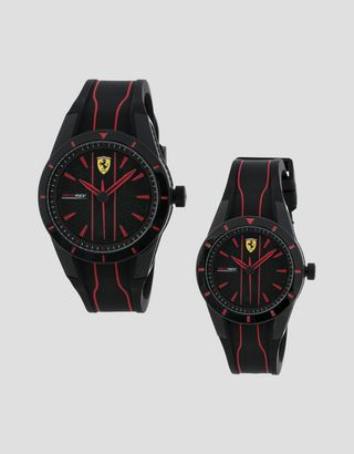 Scuderia Ferrari Online Store - Set of 2 RedRev watches, 38 and 44 mm - Quartz Watches