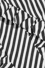 MAGDA BUTRYM Ruffle-trimmed striped silk-jacquard scarf