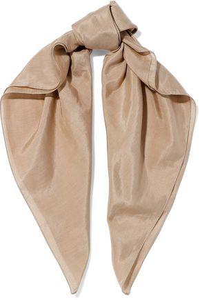 DOLCE & GABBANA Cotton and silk-blend scarf