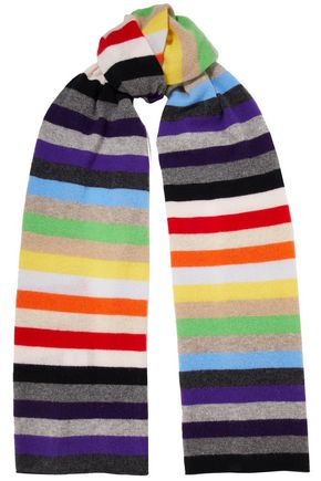 MADELEINE THOMPSON Kotewall striped cashmere scarf