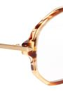 VICTORIA BECKHAM Aviator-style acetate and gold-tone optical glasses