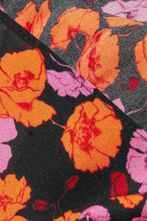 MAGDA BUTRYM Floral-print silk scarf