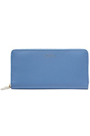 SMYTHSON Panama textured-leather continental wallet