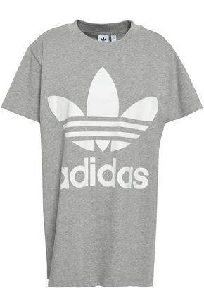 ADIDAS ORIGINALS Printed cotton-jersey T-shirt