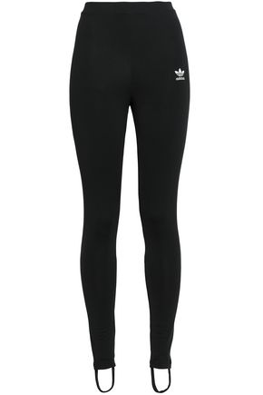 ADIDAS ORIGINALS Stretch-jersey stirrup leggings
