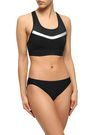 ADIDAS Cutout mesh-paneled stretch bikini top