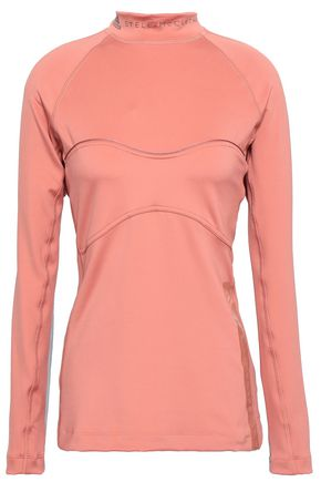 ADIDAS by STELLA McCARTNEY Paneled stretch top