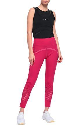 151c17659c8d2d Cutout stretch leggings | ADIDAS by STELLA McCARTNEY | Sale up to 70 ...
