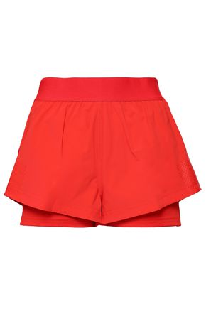 ADIDAS by STELLA McCARTNEY Layered stretch shorts