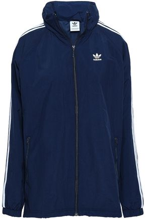 ADIDAS ORIGINALS Printed jersey woven jacket