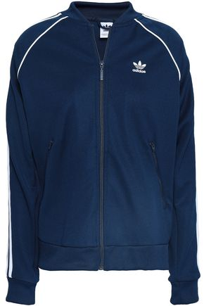 ADIDAS ORIGINALS Embroidered jersey bomber jacket