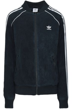 ADIDAS ORIGINALS Suede track jacket
