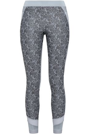 ADIDAS by STELLA McCARTNEY Paneled stretch Tech-jersey leggings
