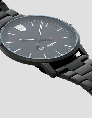 Scuderia Ferrari Online Store - Ultraleggero watch with black bracelet - Quartz Watches