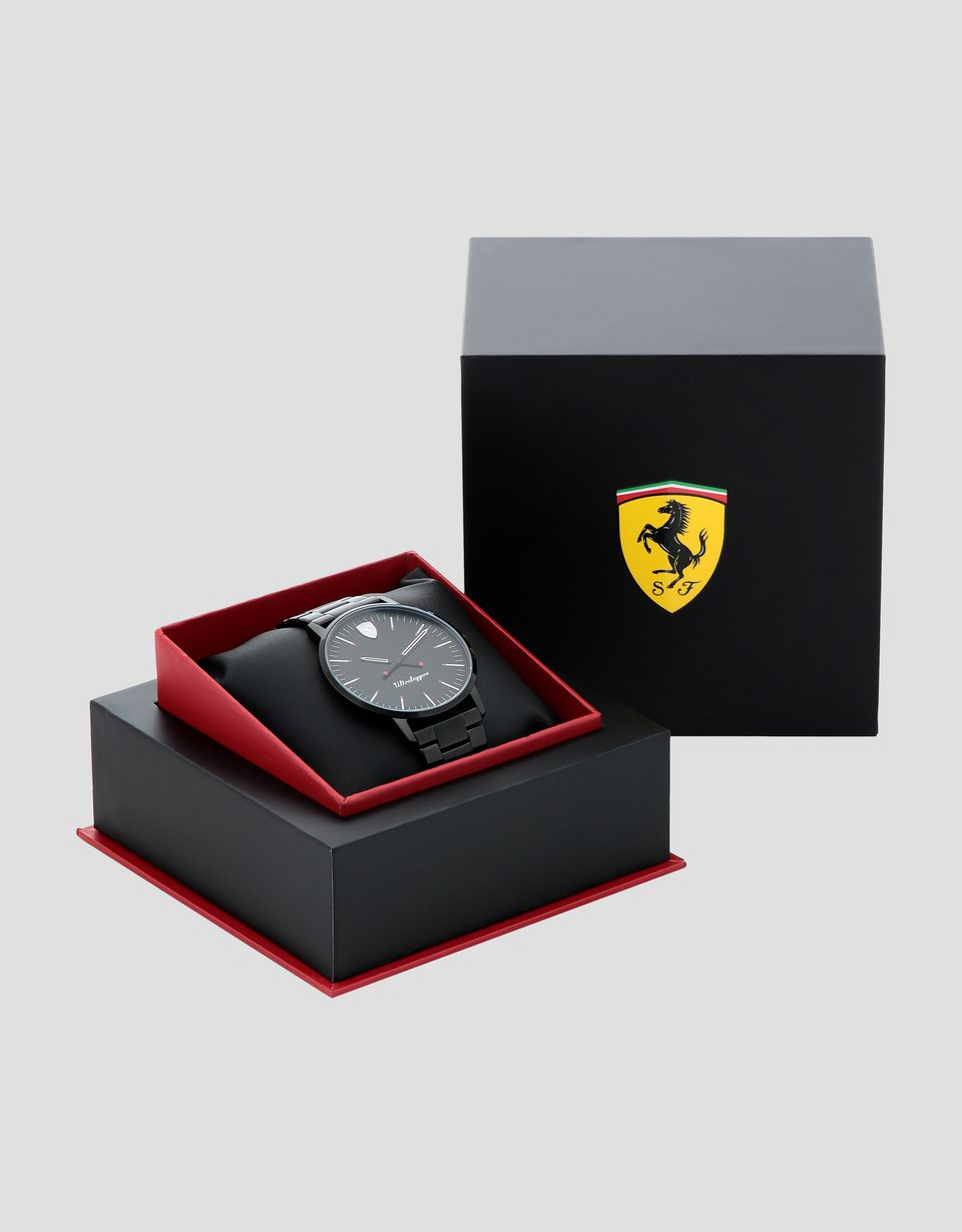 Scuderia Ferrari Online Store - Ultraleggero watch with black wrist strap -