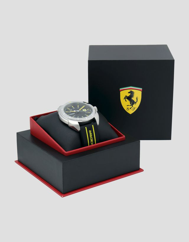 Scuderia Ferrari Online Store - Forza watch with yellow detailing - Quartz Watches