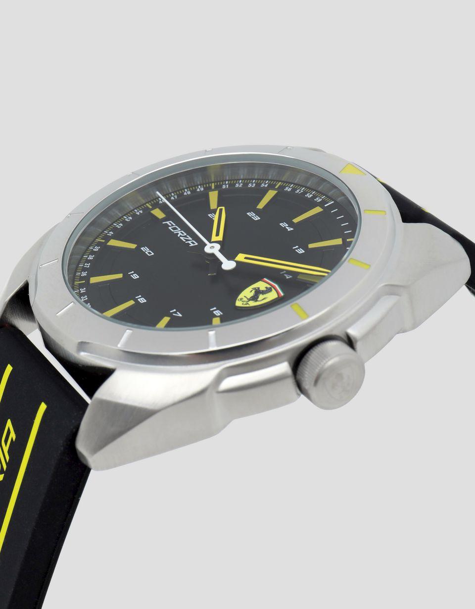 Scuderia Ferrari Online Store - Uhrenmodell Forza mit gelben Details - Quarzuhren