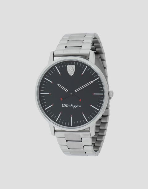 Ultraleggero watch with steel bracelet
