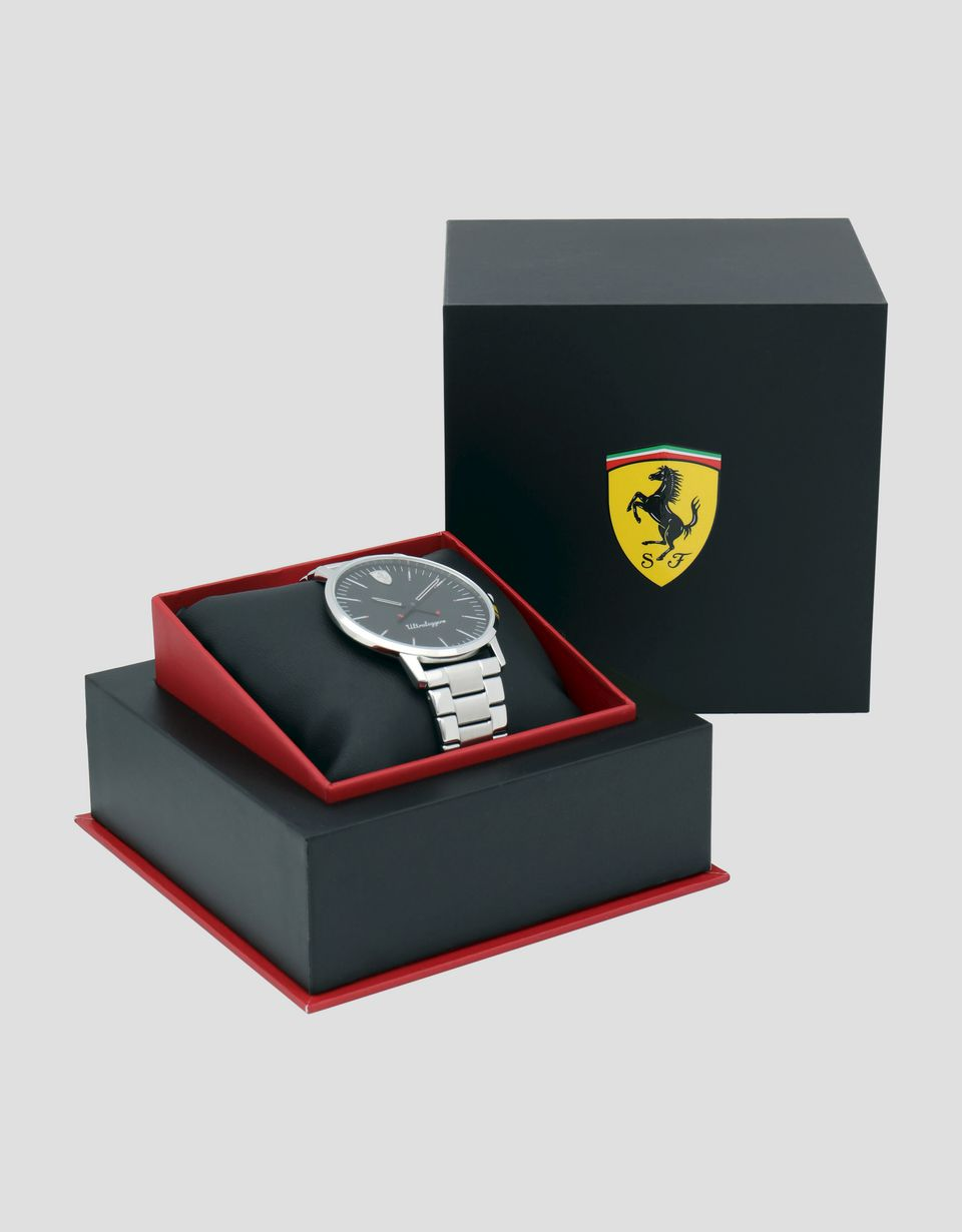 Scuderia Ferrari Online Store - Ultraleggero watch with steel wrist strap - Quartz Watches