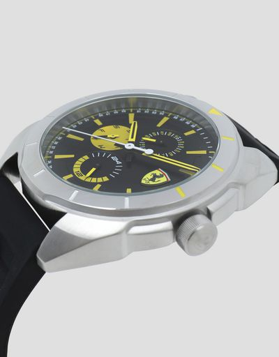 Multifunction Forza watch with yellow details