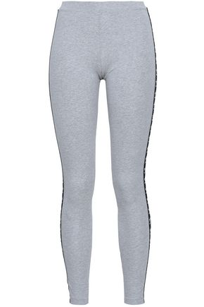 ADIDAS ORIGINALS Cotton-blend jersey leggings