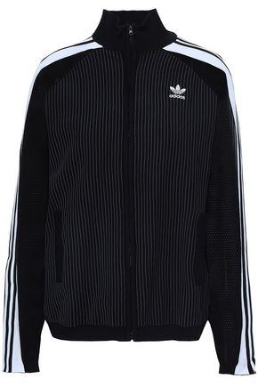 ADIDAS ORIGINALS Embroidered knitted jacket