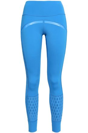 ADIDAS by STELLA McCARTNEY Cutout tech-jersey leggings