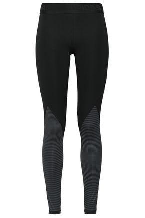 ADIDAS Paneled stretch leggings
