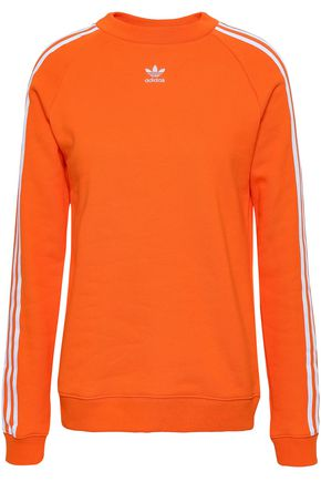 ADIDAS ORIGINALS Embroidered cotton sweatshirt