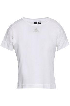 ADIDAS Slub jersey T-shirt