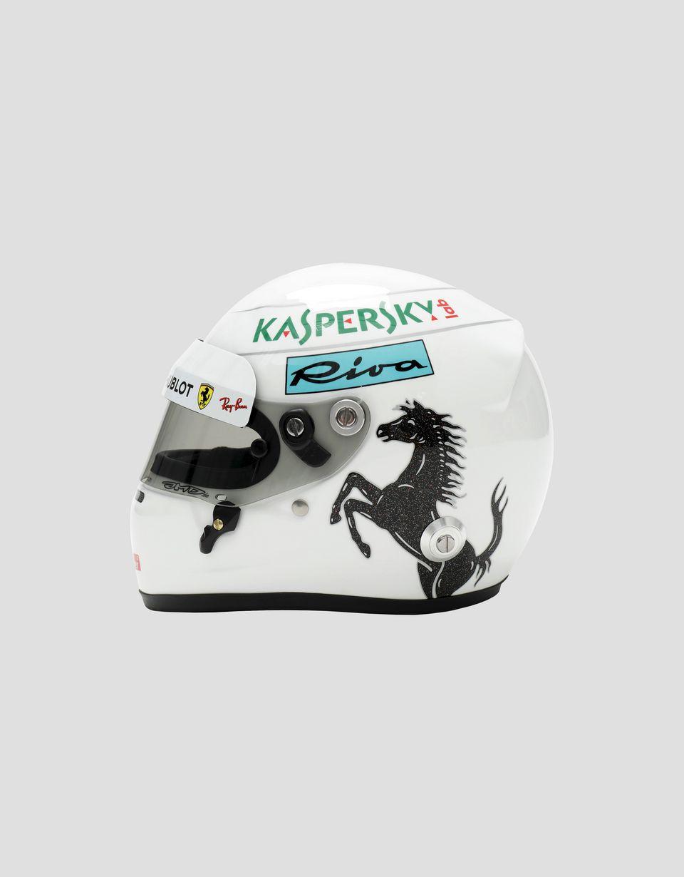 Scuderia Ferrari Online Store - 1:2 scale 2018 Sebastian Vettel mini helmet - F1 Replicas