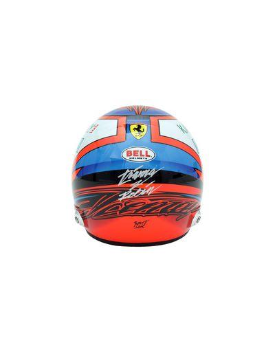 Scuderia Ferrari Online Store - Mini 2018 Kimi Räikkönen helmet in 1:2 scale - F1 Replicas