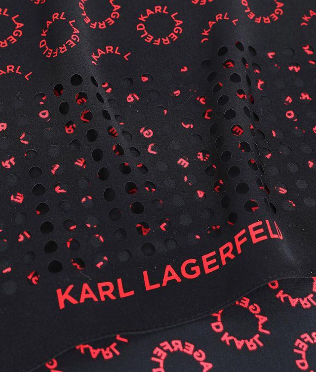 Karl Lagerfeld - K/Logo Seidentuch - 2