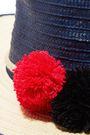SOPHIE ANDERSON Laila pompom-embellished toquilla straw hat