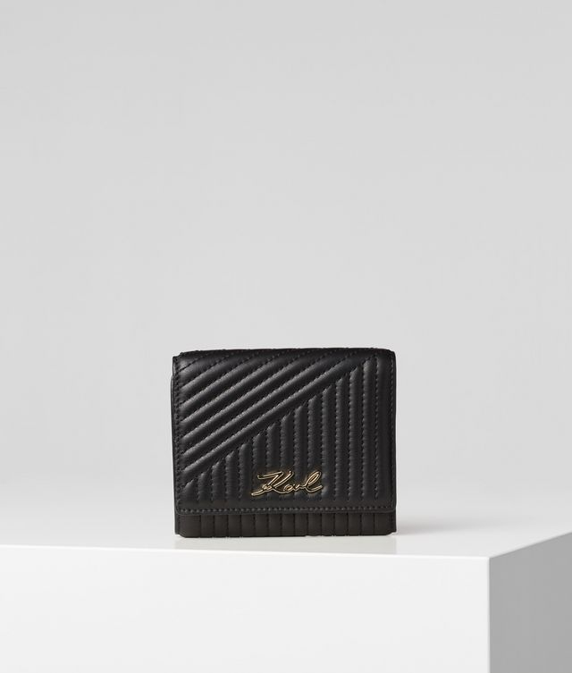 Karl Lagerfeld - K/Signature Quilted portefeuille - 1