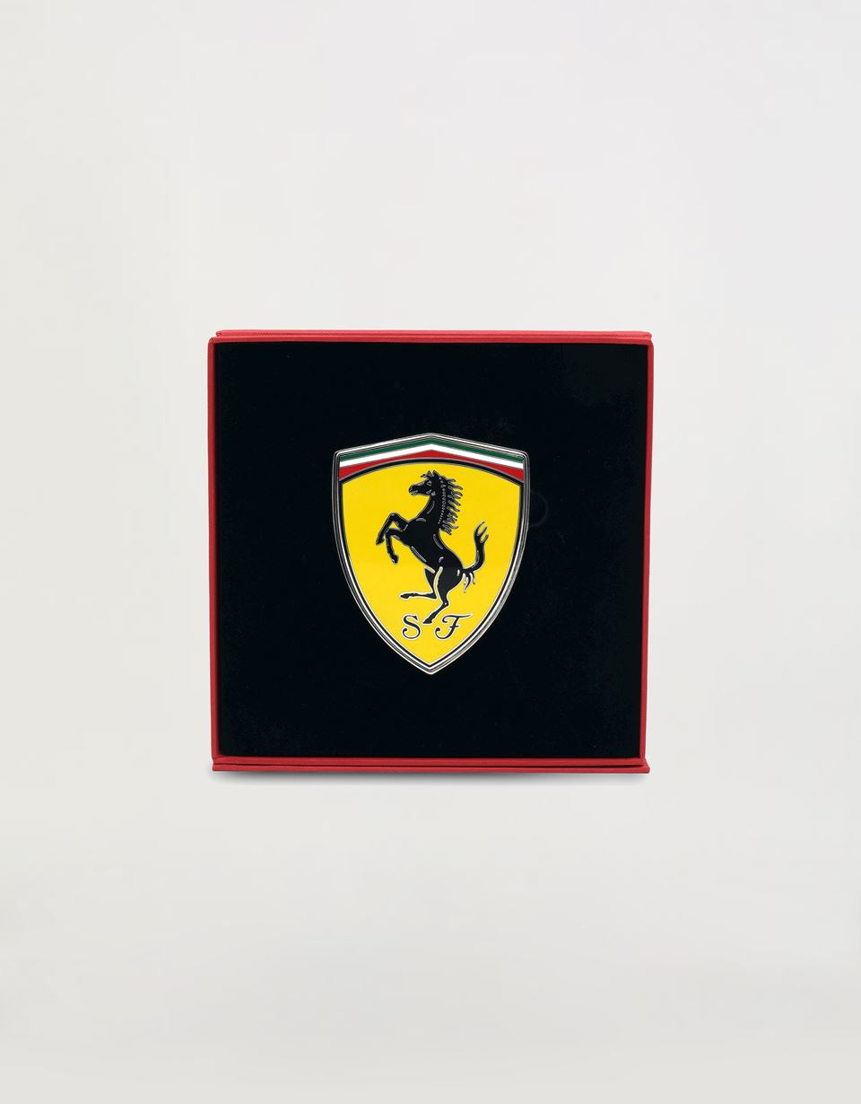 Scuderia Ferrari Online Store - Paperweight with enamelled Ferrari Shield - Desk Items